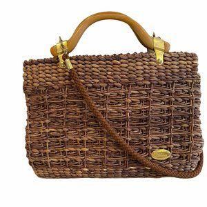 Creazioni Alma Woven Handbag Italy